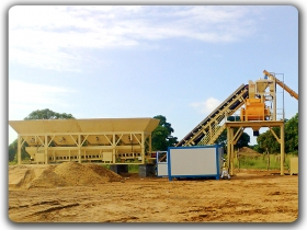 China 50m3/h Concrete Batching Plant Manufacturer,Supplier